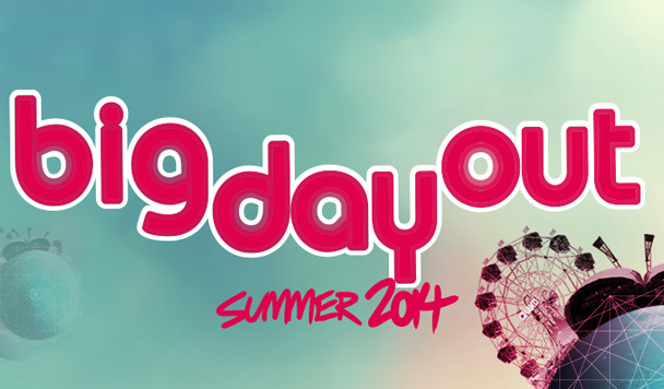 Big Day Out 2014 - Second Round Line-up