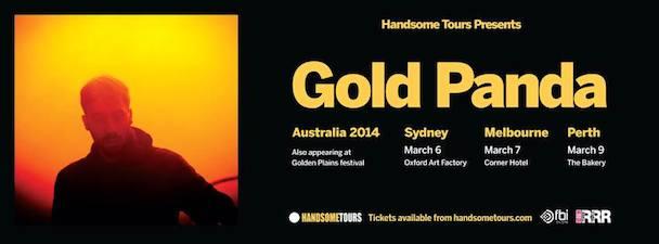 Gold Panda - Australian Tour