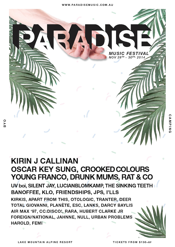 Paradise Music Festival - poster - acid stag