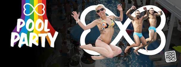 Pool Party - Sydney Mardi Gras - acid stag