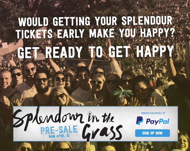 Splendour in the Grass, PayPal, VICE - acid stag