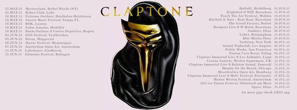 Claptone - tour - acid stag
