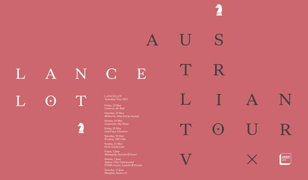 Lancelot Australian Tour 2015