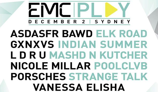 EMCPlay Announces First Line-up