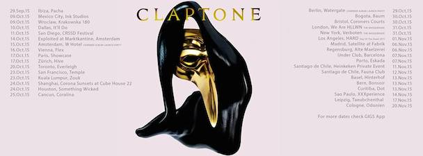 Claptone - tour dates - acid stag