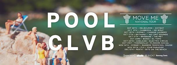 POOLCLVB - Aussie Tour - acid stag