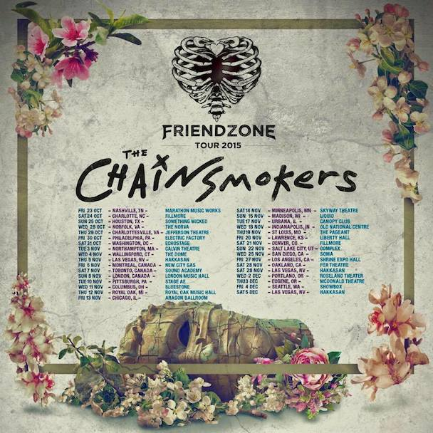 The Chainsmokers - Tour - acid stag