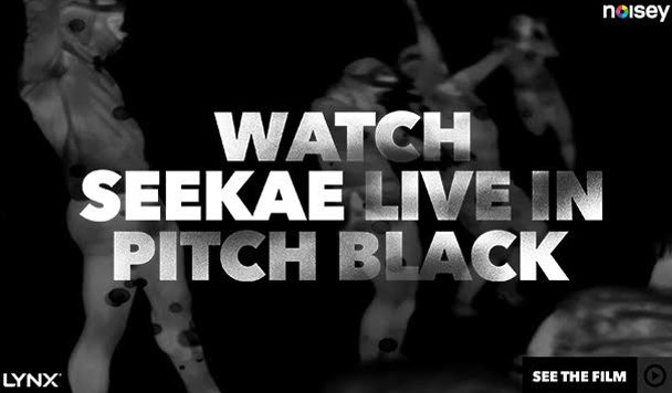 NOISEY x LYNX – Pitch Black Video Experience with Seekae