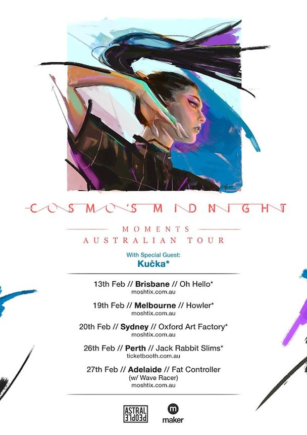 Cosmo's Midnight Aus Tour - acid stag