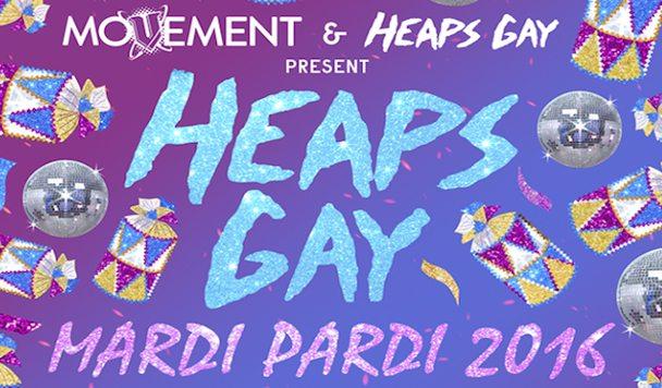 Heaps Gay Mardi Gras 2016