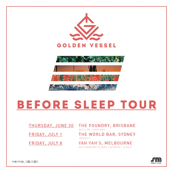 Before Sleep Tour 2016