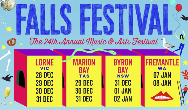 Falls Festival 2016/17 Line-up Announcement