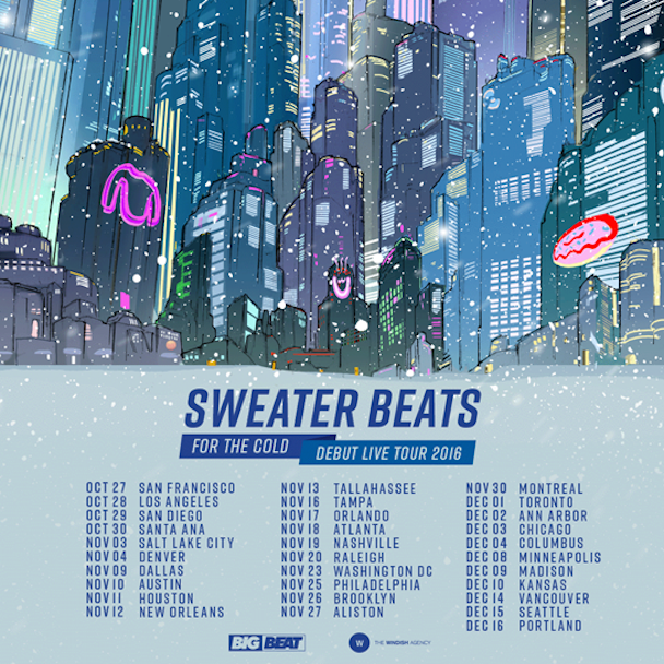Sweater Beats - US Tour - acid stag
