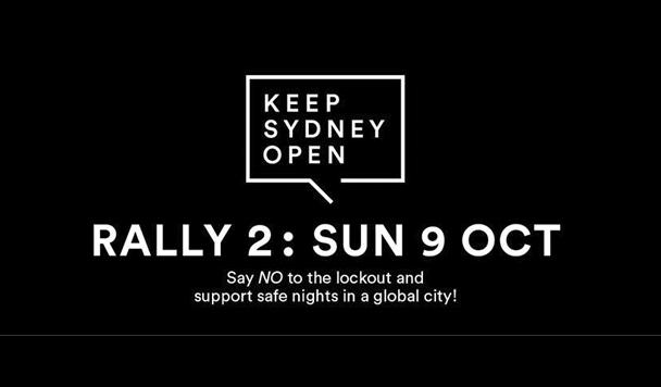 Keep Sydney Open Rally – Sunday, October 9