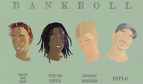 Diplo – Bank Roll (ft. Justin Bieber, Rich the Kid & Young Thug)