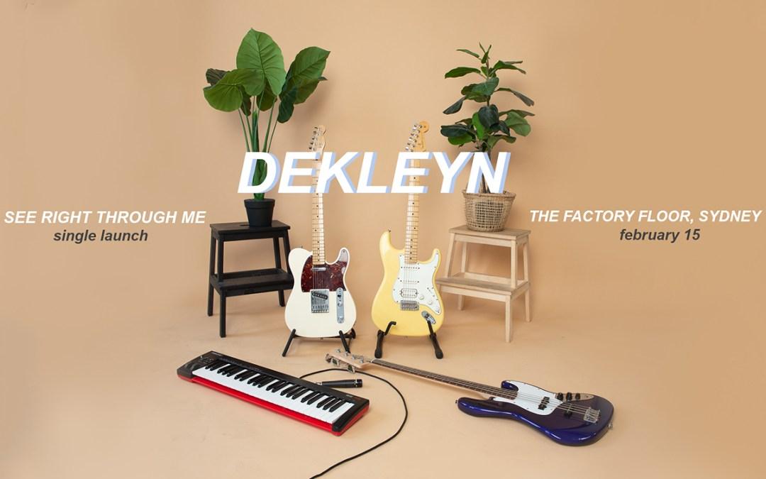 Dekleyn Announce First Show of 2020 w/Lamalo & Rory Geerin!