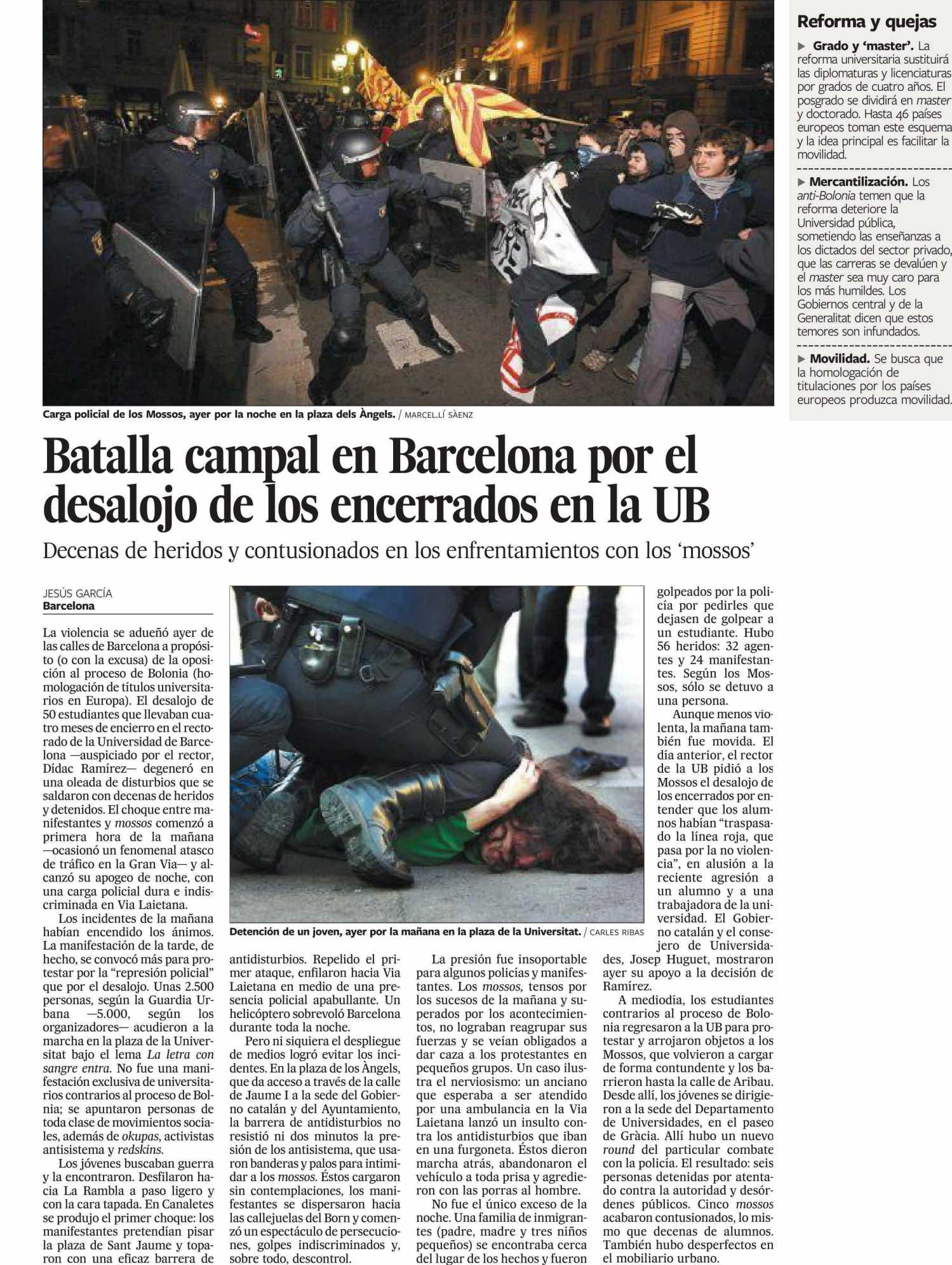 El País - 19 marzo 2009
