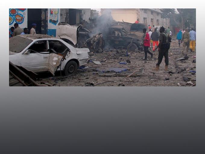 Somali'de çifte saldırı: 18 ölü