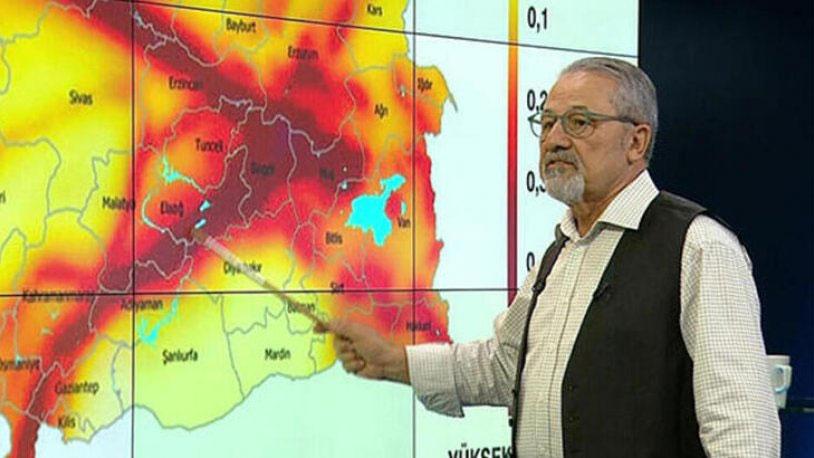 Bingöl depremi sonrası Naci Görür: Büyük deprem bekliyoruz
