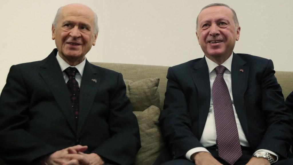 Erdoğan-Bahçeli görüşmesi uyumla bitti!