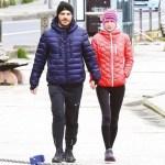 Ebru Şallı ve eşinin yasaklı yürüyüşü!