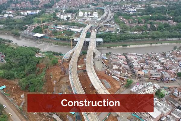 Construction in Medellín