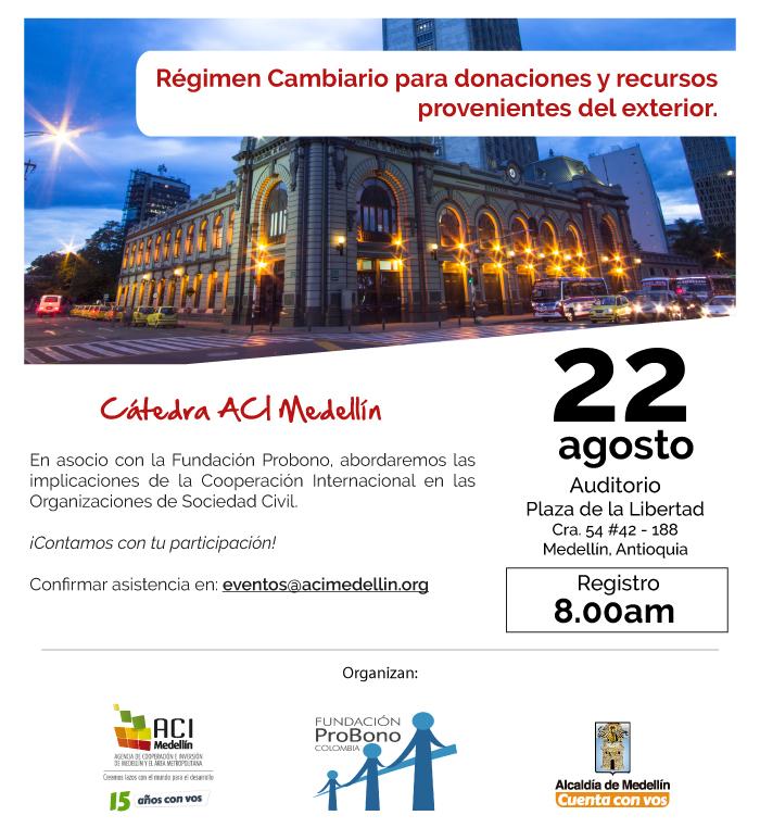 Fundación Probono y ACI Medellín