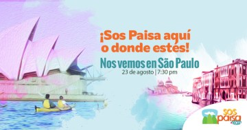 Sos Paisa visita São Paulo
