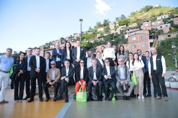 El Comité Estratégico Colombo - Francés se reunió por primera vez en Medellín
