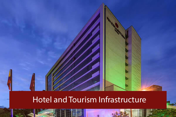 Hotel and Tourism infrastructure