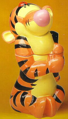 Disney Tigger Winnie The Pooh Cookie Jar Renas Collectibles