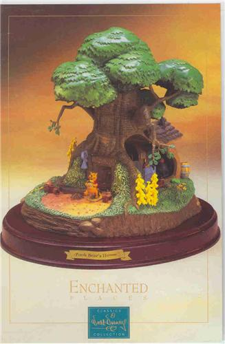 Disney WDCC Winnie The Pooh Tree House Renas Collectibles