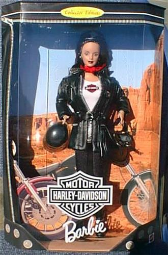 Harley Davidson Barbie 3 Doll Renas Collectibles