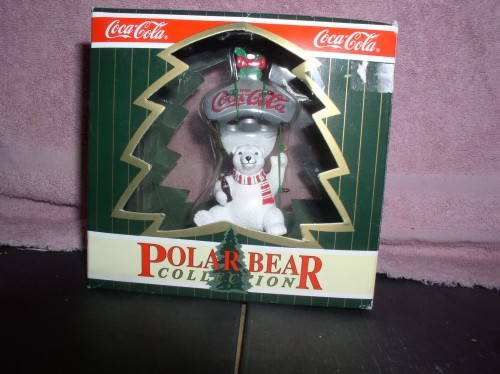 Coca Cola Polar Bear Collection Ornament Mint Original Box