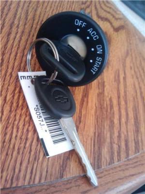 2000 Chevy Malibu Ignition Lock Switch New OEM 2 keys  Locksnkeys