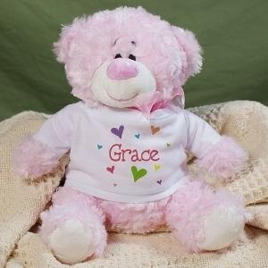 Personalized Sports Teddy Bears Rachael Edwards