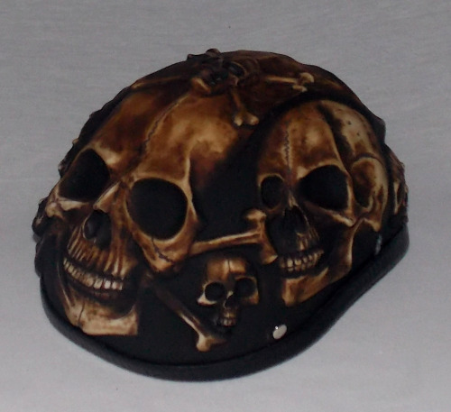 Skull Hat Leather Outlaw