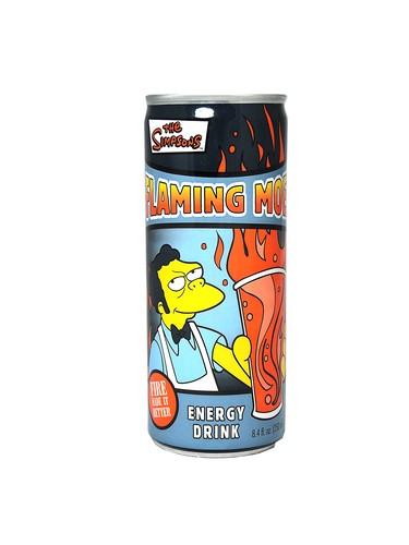 FRESH 4 Pk 8.4oz Simpsons Flaming Moe Energy - Soda ...
