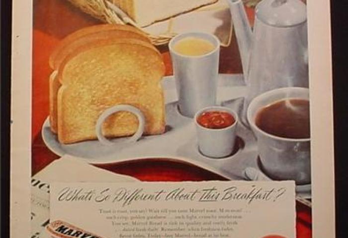 Magazine Ad For Ap Marvel Sliced White Bread 1949 Magazines Ads