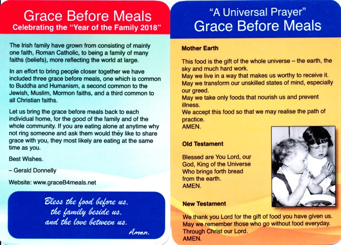 Irish Mission Now: Could Everyone Pray 'Grace