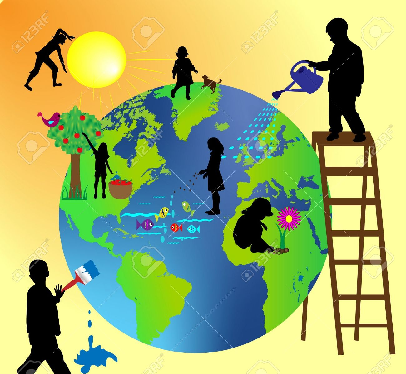 Image result for taking care of the earth
