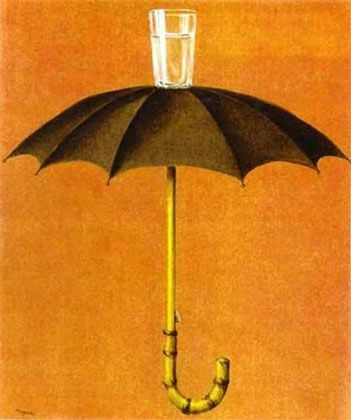Hegel's holiday, de Rene Magritte