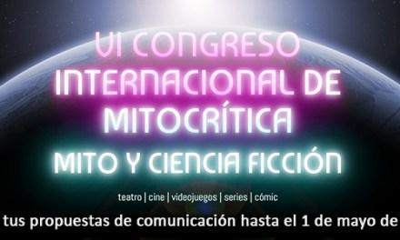VI Congreso Internacional de Mitocrítica «Mito y Ciencia Ficción»