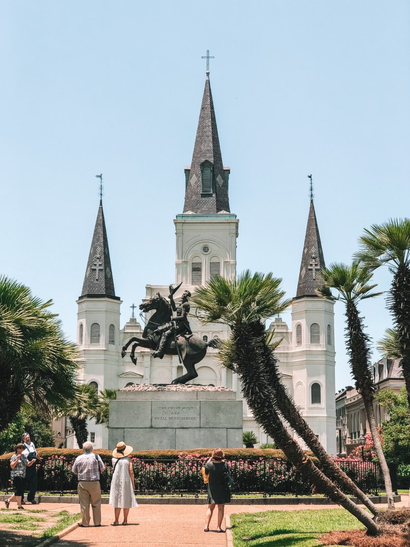 Jackson Square - 2 day New Orleans Itinerary