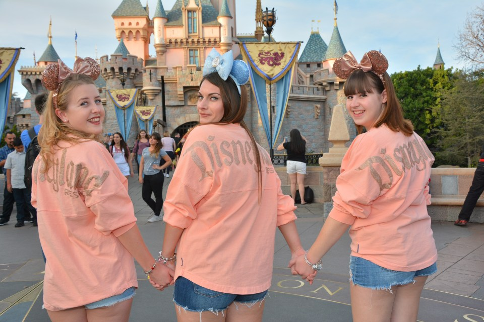 Matching Disneyland spirit Jerseys - Disney CRP 17-18