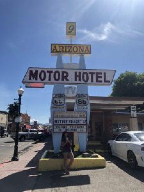 Arizona Motor Hotel, Williams, Arizona, Route 66