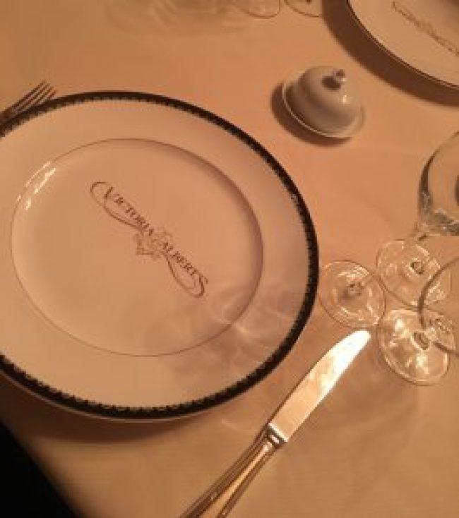 Dining at Victoria & Alberts during my Disney Cultural Representative Program