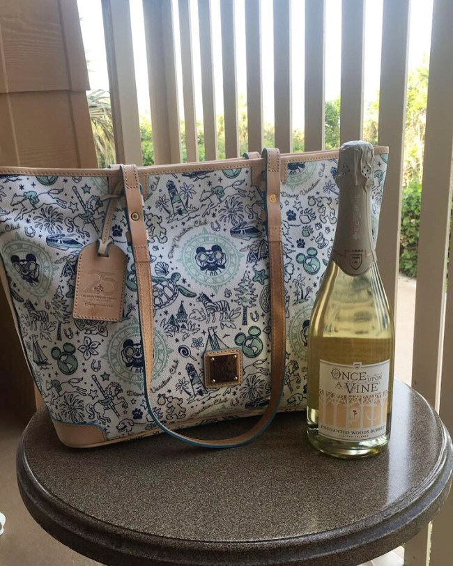 DVC exclusive Dooney & Burke bag at Disney's Vero Beach