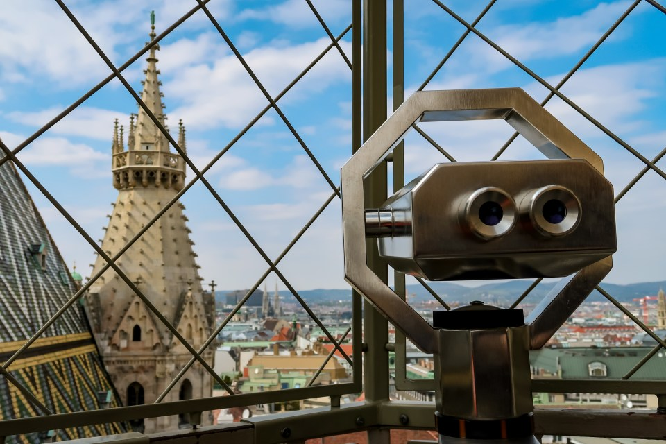 St Stephen's Cathedral lookout Vienna