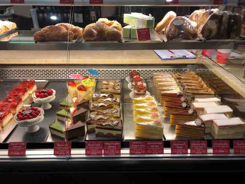 Cakes at Cafe Museum - Vienna Austria